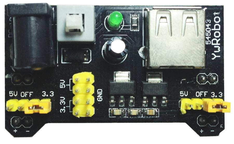 Módulo de fonte YWRobot MB102