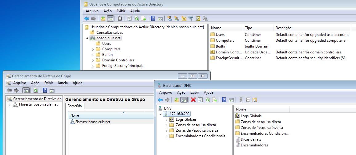 Administrando domínio do SAMBA com RSAT e Windows