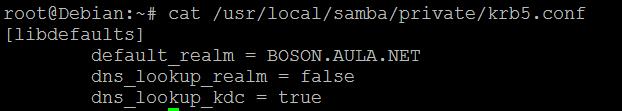 Arquivo kerberos.conf no SAMBA 4 no Linux