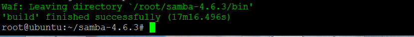 Compilar e instalar o SAMBA 4