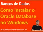 Como instalar o oracle database no microsoft windows