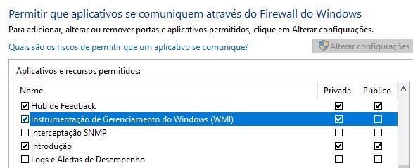 Instrumentação de Gerenciamento do Windows - WMI