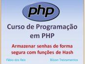 Senhas seguras com funções de hash no PHP