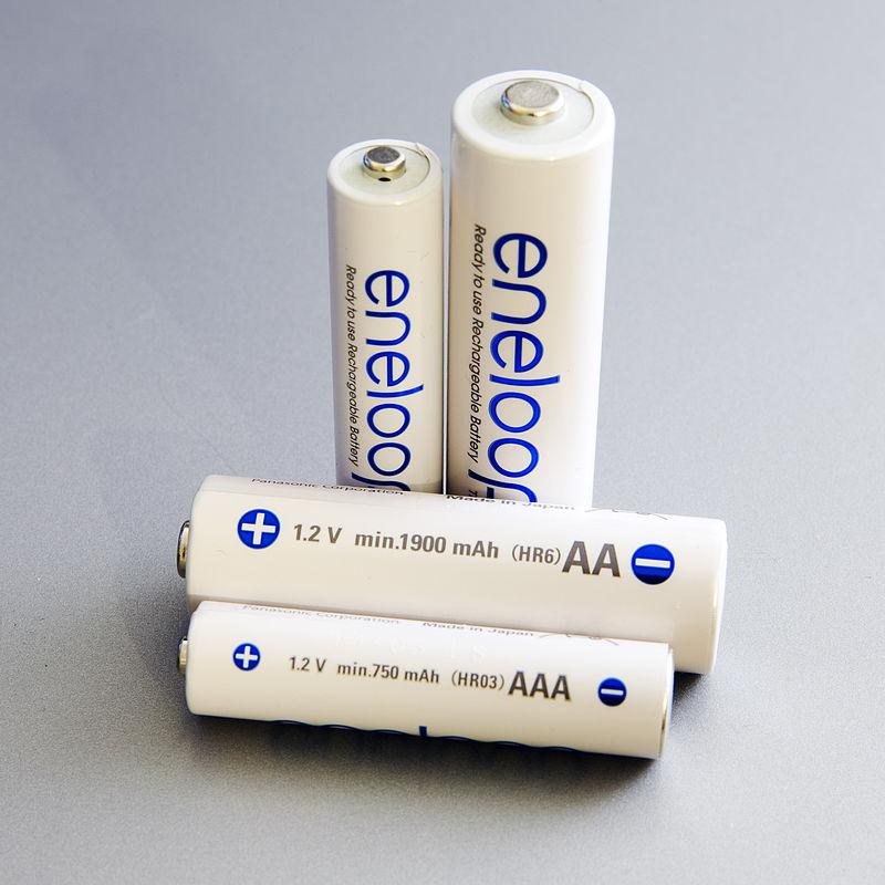 pilhas de níquel-hidreto metálico