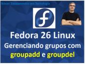 Gerenciar grupos no Fedora Linux com groupadd e groupdel
