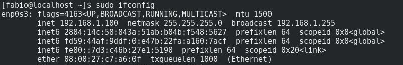 MAC Address no Linux