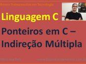 Ponteiros em linguagem C - Indireção múltipla