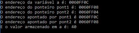 Indireção múltipla em ponteiros em linguagem C