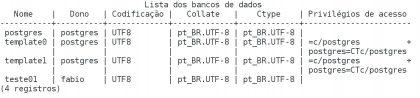 Criar banco de dados no PostgreSQL com createdb
