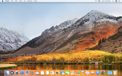 Bug no Mac OS X High Sierra
