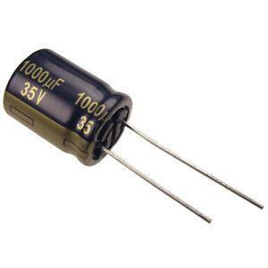 Tensão de operação de um capacitor