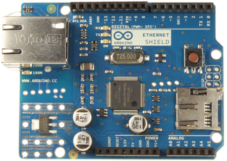 Shield Ethernet no Arduino