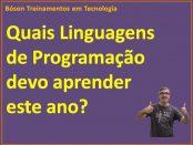 Quais linguagens de programação devo estudar em 2018?