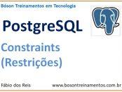 Constraints no PostgreSQL - Restrições de colunas