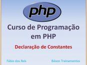 Constantes em PHP