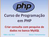 Consulta co pesquisa de dados usando PHP e MySQL