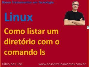 Listar conteúdo de diretórios no Linux com comando ls