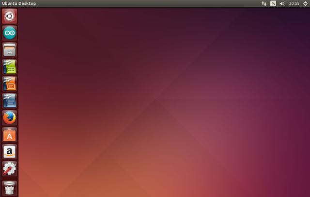 Interface Gráfica do Linux Ubuntu Ambiente de Desktop Unity (imagem: Fábio dos Reis)