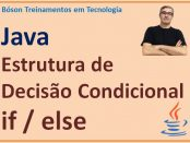 Condicional if else em Java