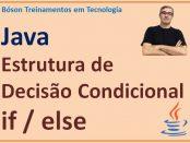 Condicional if else em Java