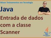 Entrada de dados com Scanner em Java