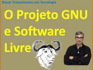 Projeto GNU e Software Livre