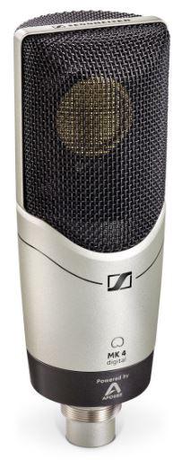 Microfone Condensador Senheiser