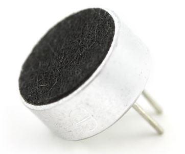 Microfone de Eletreto vendido pela Sparkfun