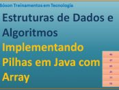 Como implementar uma estrutura de pilha em Java usando array - Fábio dos Reis