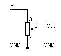 Controle de volume com potenciômetro