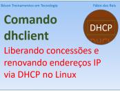 Comando dhclient no Linux - liberando concessões DHCP