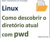 Comando pwd no Linux - descobrir o caminho atual de um diretório