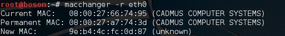 GNU Mac Changer no Linux