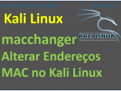 Alterar mac address no Linux com Kali Linux