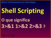 Redirecionamento de mensagens usando shell scripting