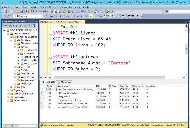 SGBDR SQL Server - Bancos de dados
