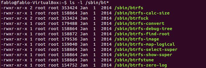 Ferramentas adicionais do btrfs no Linux
