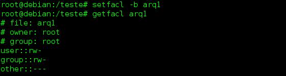 Lista de Controle de Acesso ACL no linux