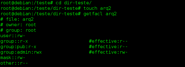 como configurar ACL no Linux