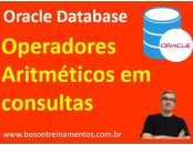 Como usar operadores aritméticos no oracle database