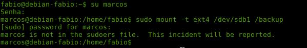 comando sudo no Linux