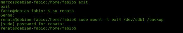Usando o comando sudo no Linux