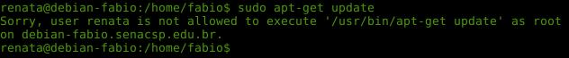Permissões com sudo no Linux