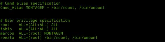 Comando sudo no linux e permissões