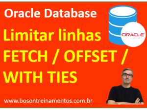limitar linhas com fetch e offset no oracle database