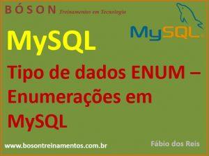 Tipo de dado ENUM em MySQL