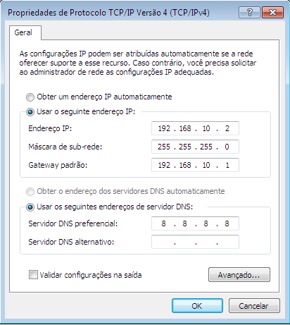 compartilhamento de internet com firewall iptables