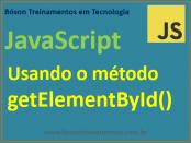 Método getElementById em JavaScript