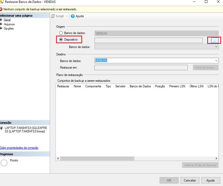 Cómo restaurar una copia de seguridad de bases de datos en Microsoft SQL Server