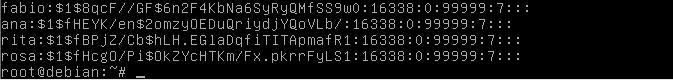 Senhas criptografadas com MD5 no Linux